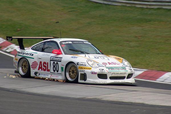 Manthey Porsche GT3-MR
