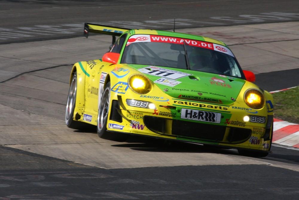 Manthey Porsche im Schwalbenschwanz