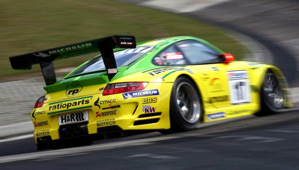 Manthey Racing Porsche 911 GT3 RSR