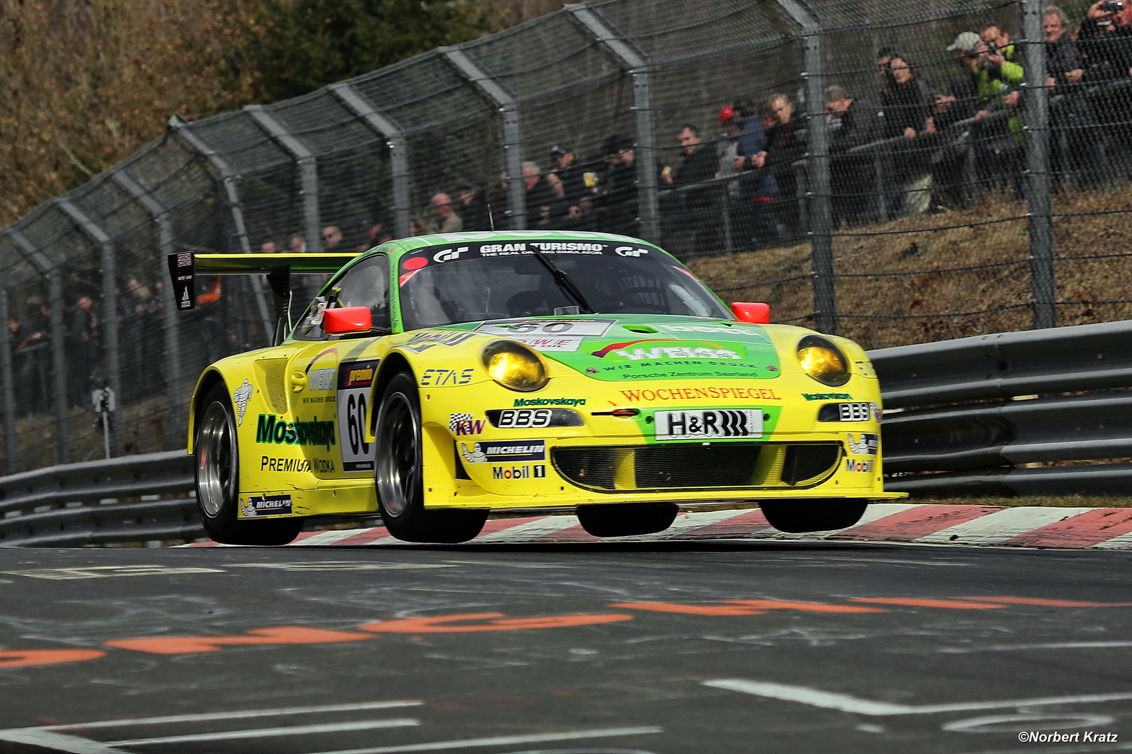 Manthey RSR at VLN 2 / 13.04.2013