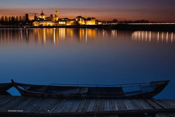 Mantova, fredda serata