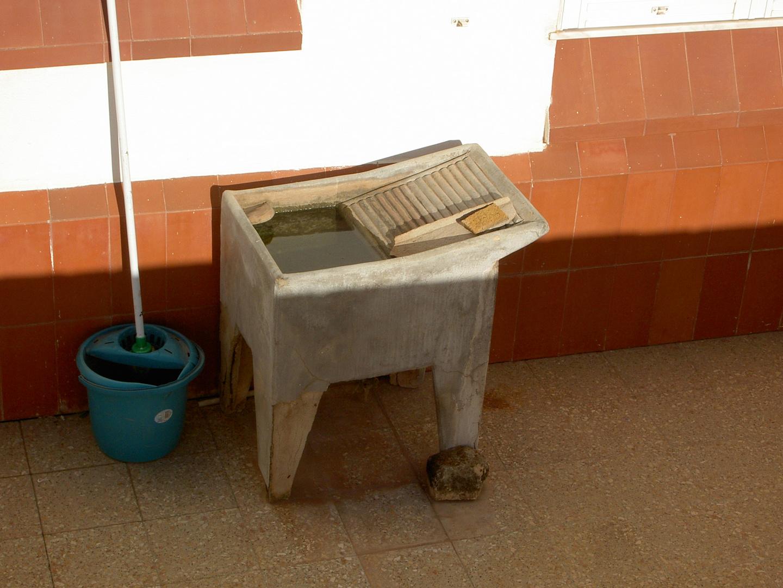 manuelle Waschmaschine!