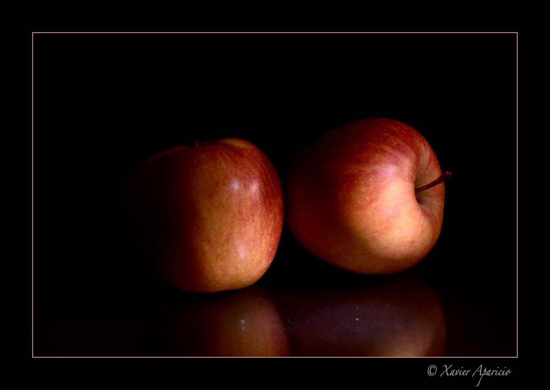 Manzanas reflejadas