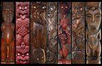 Maori - Schnitzereien
