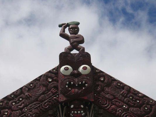 Maori - Versammlungshaus