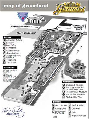 Map of Graceland