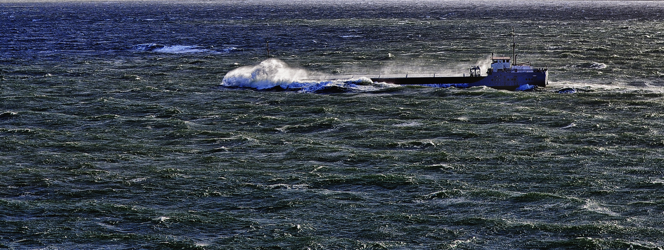 Mar gruesa.
