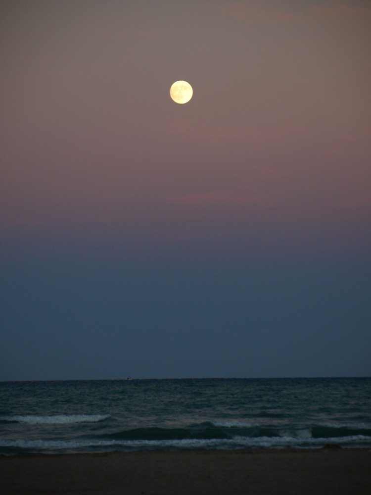 Mar y luna