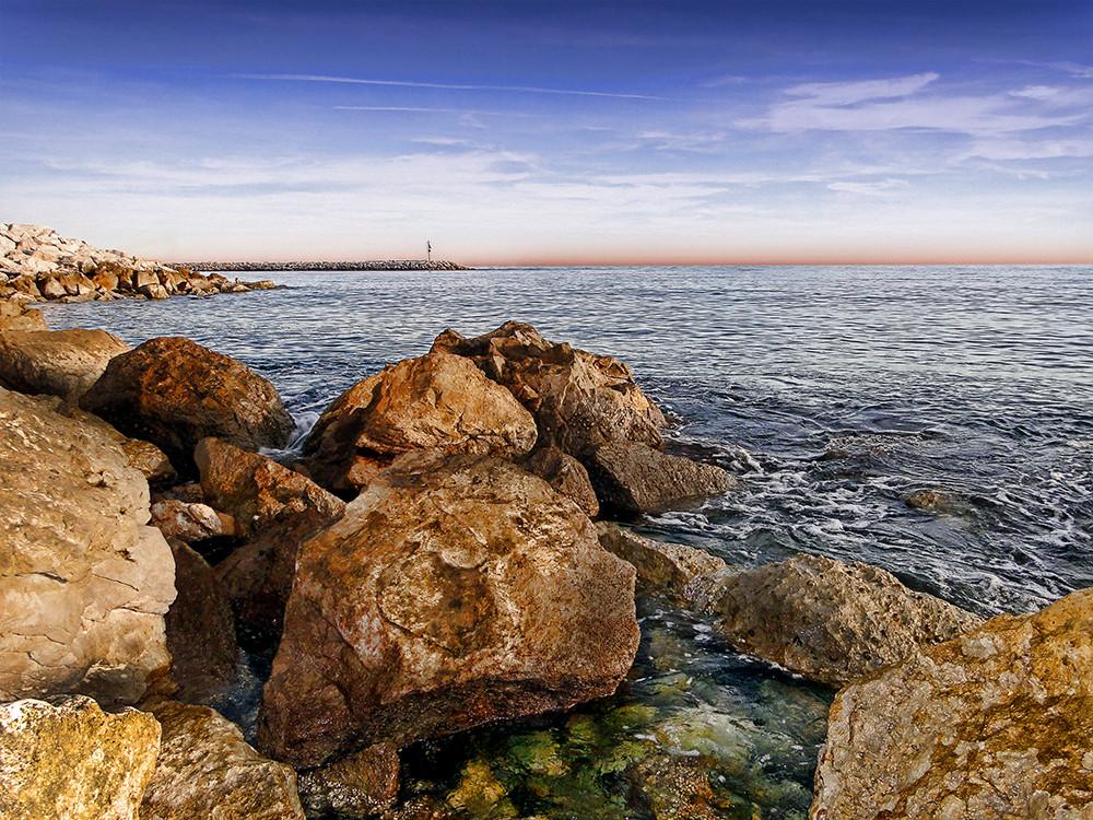 Mar Y Rocas Imagen & Foto