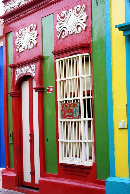 Maracaibo, Barrio del Saladillo, Casas coloridad, Venezuela