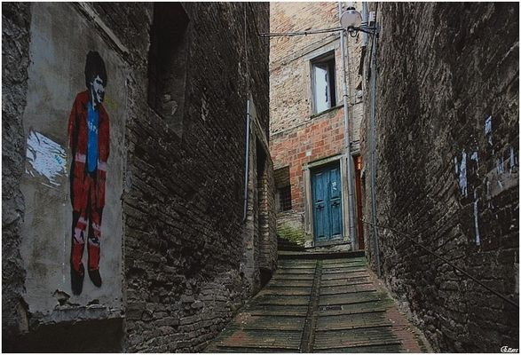 Maradona in Urbino
