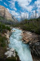 Marble Canyon im Kootenay Nationalpark