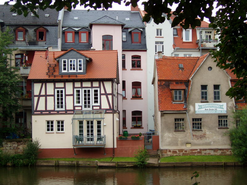 Marburg, am Grün