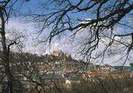 Marburg - Blick auf das Landgrafenschloß
