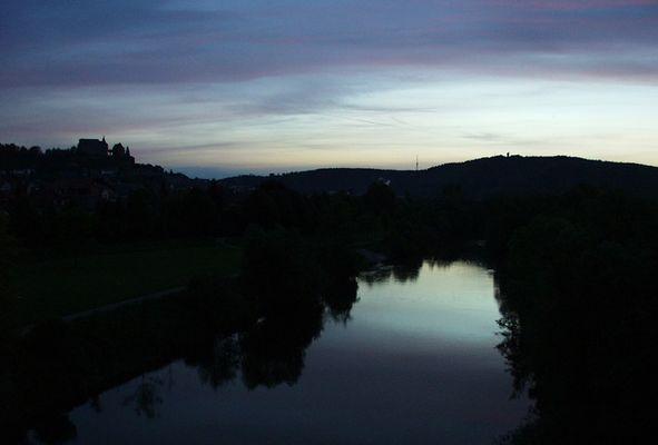 Marburg im Morgengrauen