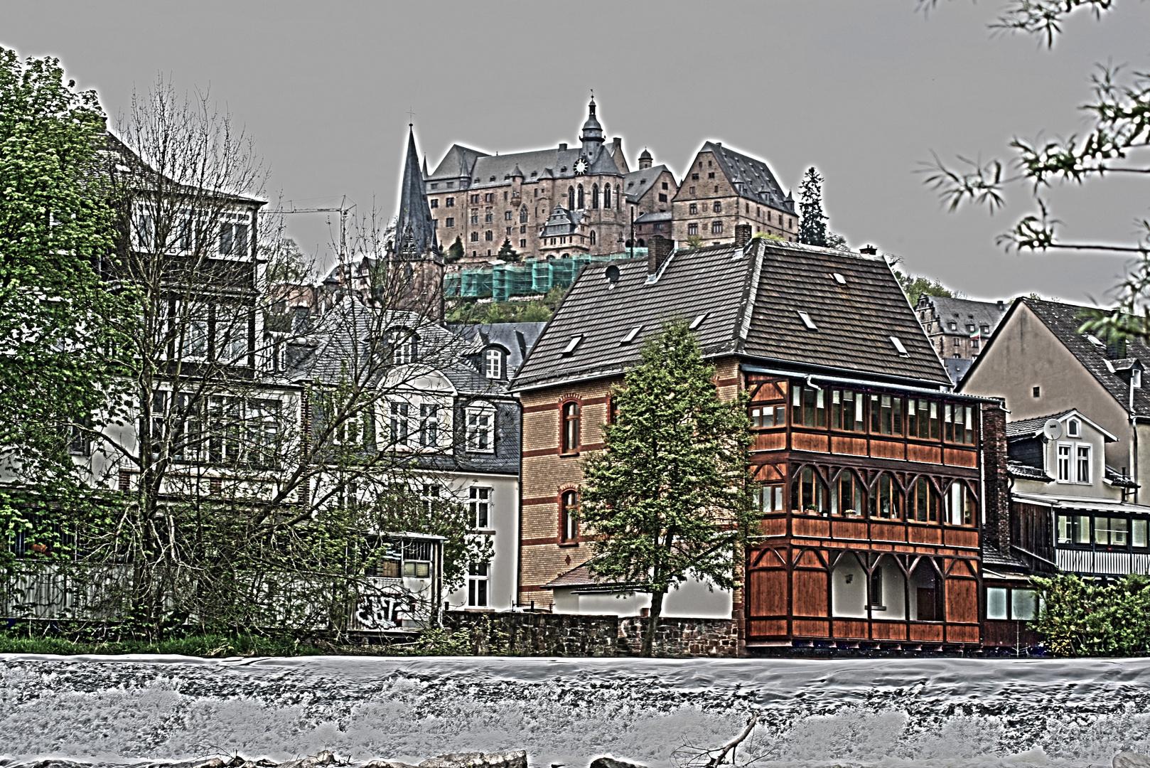 Marburg in HDR