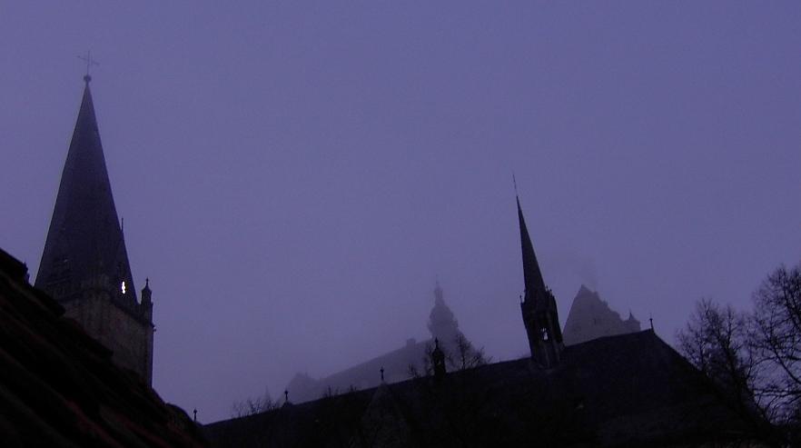 Marburg, Luthersche Pfarrkirche und Schloß