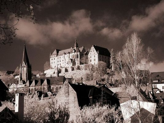 Marburger Schloss im November