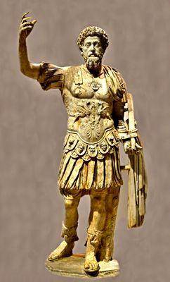 Marc Aurèle empereur( Romain) musé Louvre Lens (62)