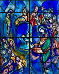 Marc Chagall in Mainz St. Stephan (1)