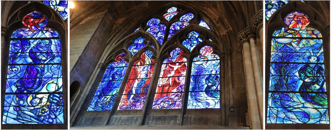 Marc Chagall Kirchenfenster