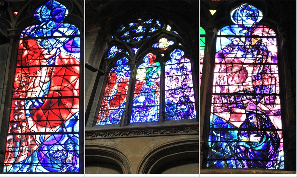 Marc Chagall Kirchenfenster.