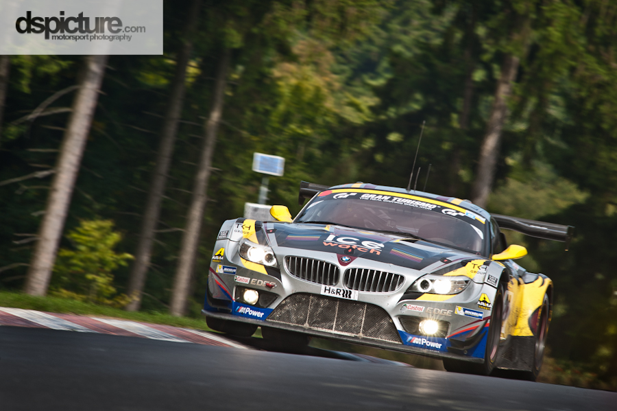 Marc VDS is pushing hard @ VLN 8 2013