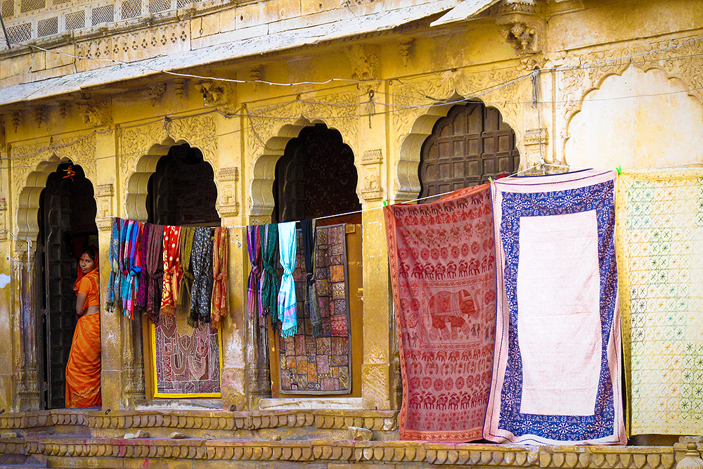 Marchande De Jaisalmer