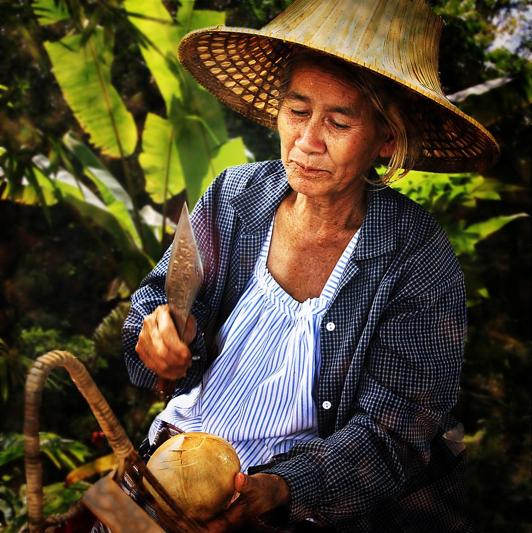 marchande de noix de coco