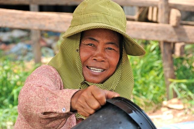 Marchande du Cambodge