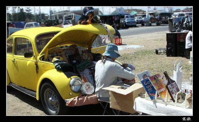 Marché à Cap Town-Afrique duSud