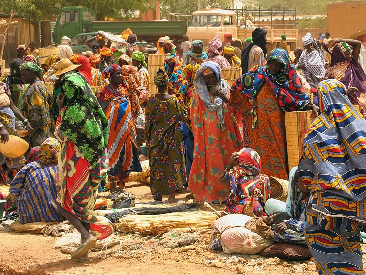 Marché de Gorum Gorum (Burkina Faso)