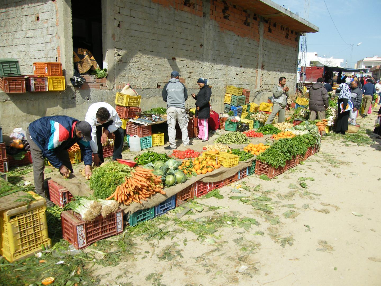 marché du petit village