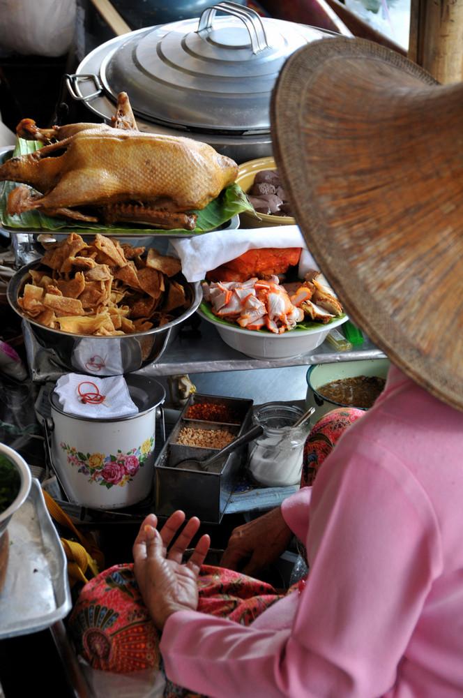 Marché flottant... Bangkok