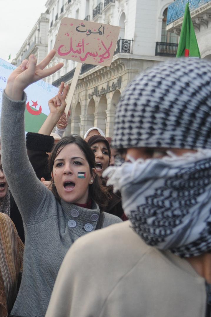 marche ghaza en algerie
