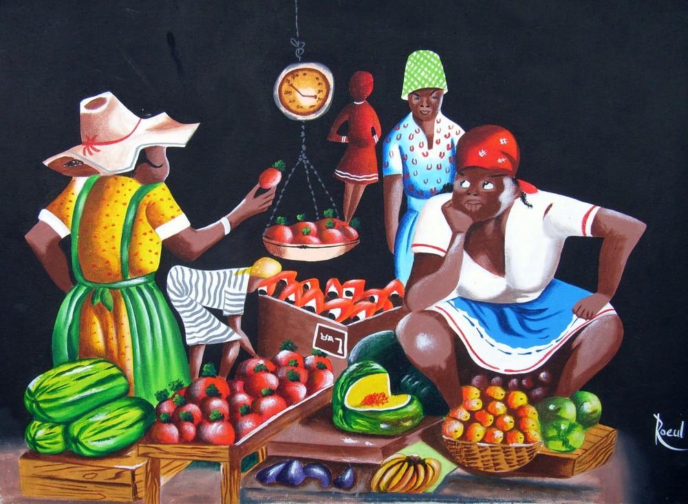 marché jamaicain