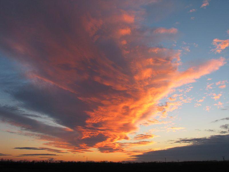 Marchfeld-Wolken