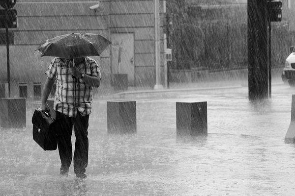 Marchons sous la pluie