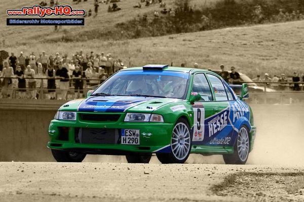 Marcus Hesse bei der Rallye-Wartburg
