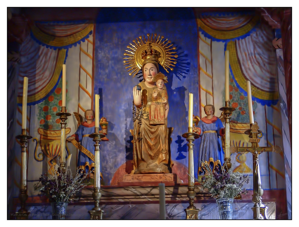 Mare de Déu de Bernui ( Pallars Sobira Lleida Catalunya )