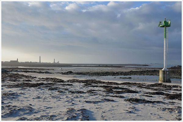 marée basse à St Gué