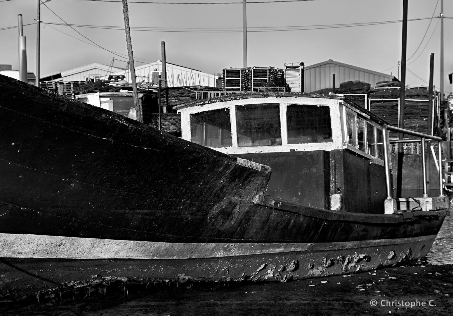 Marée Basse - Port du Rocher de LaTeste de Buch