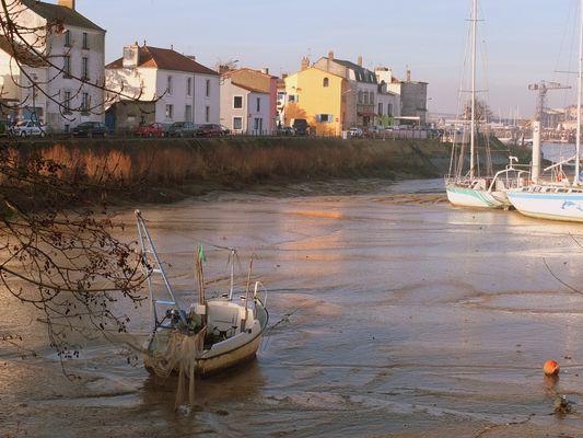 Marée basse sur la Loire