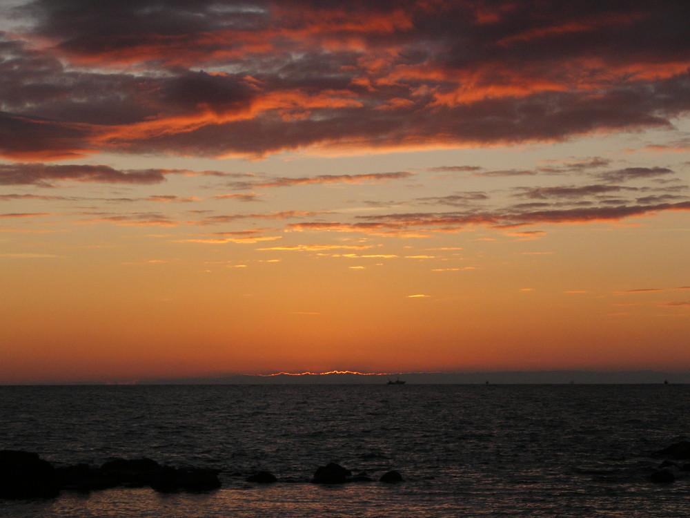 Maremma, che tramonto!