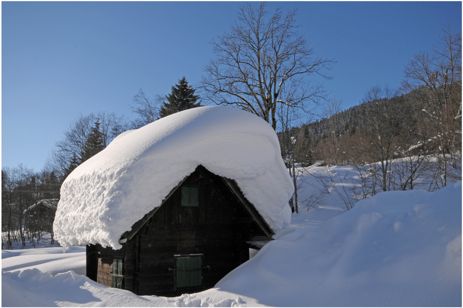 Maria - Alm - Hintetal, da wo der Winter zu Hause ist
