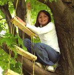 Maria , fearless tree climber