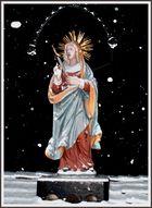 Maria im Schnee