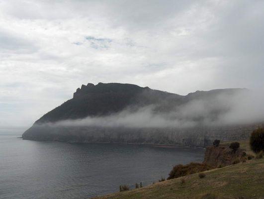 Maria Island in Fog