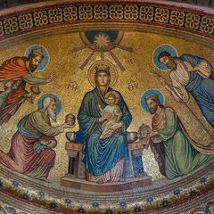 MARIA LAACH - Mosaik im östlichen Querhaus
