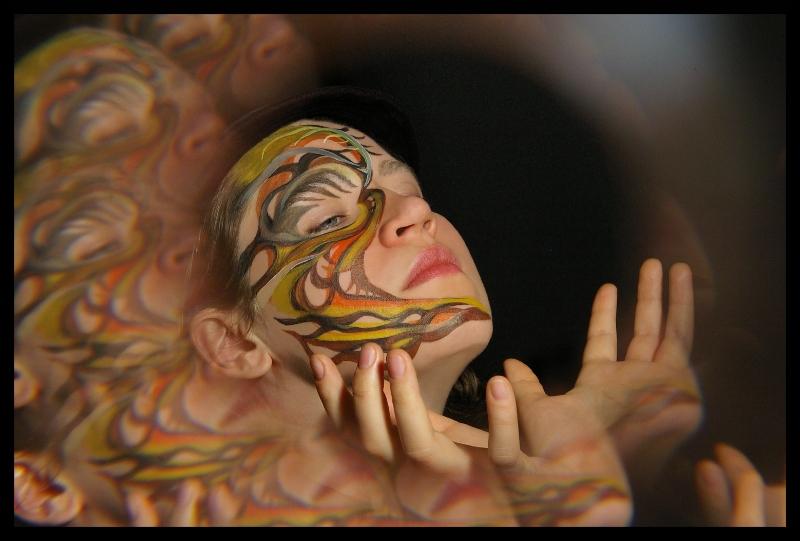 "MARIA MARACHOWSKA ""BODYART"" 2011 ""FIREBIRD"" II"